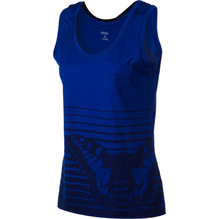 Surf Pull on the soft, easy-fit Icebreaker Women's Harmony Tank Top to hit the road less traveled in comfort. Its relaxed fit is everyday comfy, and merino wool construction keeps you not only warm but supremely comfortable with its breathability and odor-resistant qualities. Clothing: check. Now you just have to decide where your next adventure will be. - $64.95
