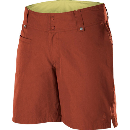 Camp and Hike Slip out of your fleece pj's, wiggle out of your sleeping, and don the Isis Women's Zola Short. Then crawl out of your tent, and get breakfast started. This backpacker-friendly short features lightweight, durable, stretchy fabric that keeps you comfortable both on and off the trail. - $64.95