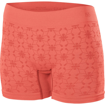 Fitness For soft, smooth, enduring comfort during a tough workout or lounge session, turn to the Isis Women's Active Boy Short. This stretchy, breathable short features a four-inch inseam for plenty of coverage and an inseam stretch panel for total mobility. - $21.95