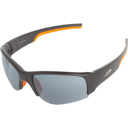 Camp and Hike The Julbo Dust Sunglasses come with interchangeable Polarized, Spectron 1, and Clear Lens Sets to keep you ready for varying and quickly changing light conditions. Wear these shades when you're playing outside and want to be prepped for everything from desert sun to deep-in-the-trees darkness. - $129.95