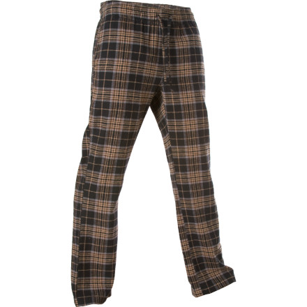 After a seven-hour work week, pull on the Kavu Men's Recline Pants and send a signal that if anyone bothers you (unless it's to bring you a beer and a taco), they'll be on your blacklist indefinitely. - $21.98