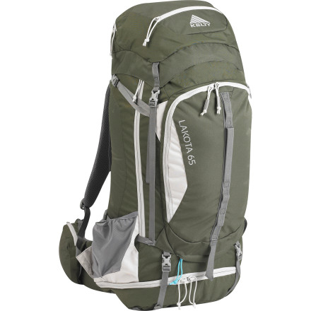 Camp and Hike If you plan on backpacking around the Lake Tahoe area or deep into Glacier National Park, pick up the Kelty Lakota 65 Backpack. This affordable, full-sized backpack features a spacious main compartment that holds your gear and food for a week of trekking in the wilderness. Plus, its separate sleeping bag compartment makes it easy to pull out your bag without totally unpacking, and a side-access zipper lets you quickly grab gear or a puffy when the weather gets a bit chilly. - $179.95