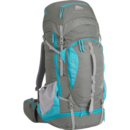 Camp and Hike The Kelty Women's Lakota 60 Backpack gives you the dialed-in fit and comfort you've been looking for in a backpack. Its Lightbeam Suspension system provides an snug fit and lightweight comfort, while the Lakota's wealth of features makes life on the trail easy. - $179.95