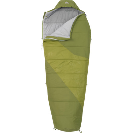 Camp and Hike There's no need to compromise on performance when you're looking for a solid warm-weather sleeping bag that's good for Mother Nature. Just look at the Kelty Ignite 40/EN 37 Sleeping Bag. This 40-degree synthetic bag features eco-friendly, light, and lofty Ecopet insulation that's hypoallergenic, that's made with resin-free construction, and that consists of 100% recycled polyester from PET bottles. Not only does the Ignite 40 give you good-earth vibes, but it also keeps you comfy on chilly summer nights in the mountains. - $109.99