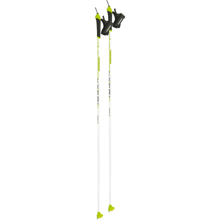 Ski Whether you're new to the world of skate skiing or an old-timer, the Komperdell Nordic Team Ski Pole makes you want to get out there and feel the burn. Its perfectly balanced shaft provides low swing weight, while the Nordic's injected-cork grip gives you the ideal hold you've been looking for. The steel tip easily penetrates the packed or groomed trails, while the powder basket ensures your arms doesn't sink deep into the snow and throw off your rhythm. Plus, the Nordic's strap keeps your hand comfortably in place while you skate past the competition (or your significant other). - $43.97