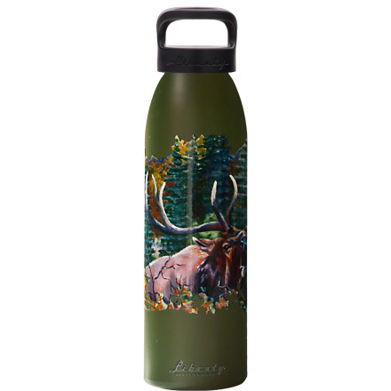 Camp and Hike Inspired by the wild creatures that visit her ranch in Snohomish, artist Deanna Lally teamed up with Liberty Bottle Works to produce the Deanna Lally Collection Water Bottle. The result of their collaboration is a bottle that's incredibly functional, sustainable, and aesthetically pleasing to the eye. Plus, 1% of sales from Deanna's collection go to support the Sarvey Wildlife Care Center. - $18.95