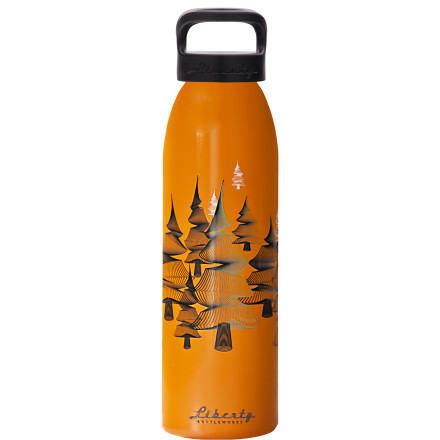 Camp and Hike Featuring slick artwork by graphic designer Jimmy 'MoMo' Garland, the Liberty Bottle Works Jimmy Garland Collection Water Bottle is pleasant to sip from and is the next best thing to hanging a painting above your desk. The bottle is made from 100% recycled aluminum, and the thread-free wide mouth is comfy against your lips. - $18.95