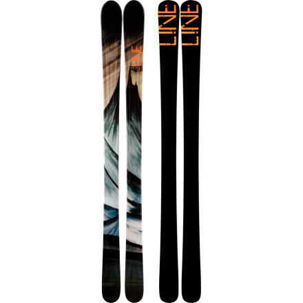 Ski The all-mountain-hungry Line Prophet Ski has foreseen your ski days: early pow laps, some glades on the way to your favorite tree stash, then some groomers and bumps after lunch. With its 90-millimeter underfoot, metal-reinforced wood core, and early-rise tips, the Prophet 90 is a do-everything resort ski that is as at home on hardpack groomers as it is in the deep stuff. - $274.98