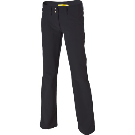 Camp and Hike The Lole WomeneAs Travel Pant has all it takes to keep up with gals on the go. The pant's Nano carbon light fabric has charcoal from bamboo embedded in its fibers to help it resist odors and enhance its moisture-wicking properties. Whether youeAre backpacking the French Alps or just knocking around town, a touch of spandex lets the Travel Pant stretch with you as you move, and its wrinkle-resistant properties help it look fabulous whether you're pulling it from a pack or the dryer. - $42.48