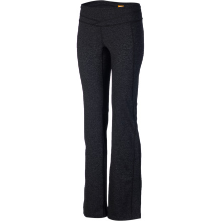 Fitness Whether you're slowing things down and finding your center or blowing off steam and getting your heart racing, the Lucy Women's Hatha Pant is ready for the ride. This comfy, stretchy pant with a body-hugging fit accompanies you to your next yoga class or run; when it's all over, you'll find it's also just the thing for relaxing on the couch. - $89.00