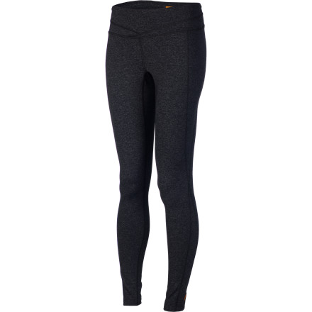 Fitness Regardless of what your feet are doing, your legs are happy when they're sporting the Lucy Women's Hatha Legging. Your feet could be barefoot for yoga class, pounding the pavement in running shoes, or even sporting your new knee-high boots on a trip to the coffee shop'whatever's going on with them, your legs are wrapped in stretchy, comfy, moisture-wicking comfort. - $89.00