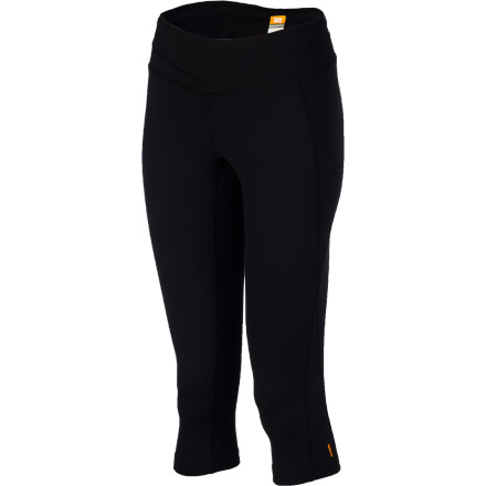 Fitness A good capri tight is an absolutely indispensable part of a workout wardrobe. The Lucy Women's Hatha Capri Legging delivers all you demand from a capri: a stretchy, compressive, moisture-wicking fabric, a mobility-enhancing gusset, and nice extras like side seams that are rotated to the front for comfort and a highly flattering look. - $79.00