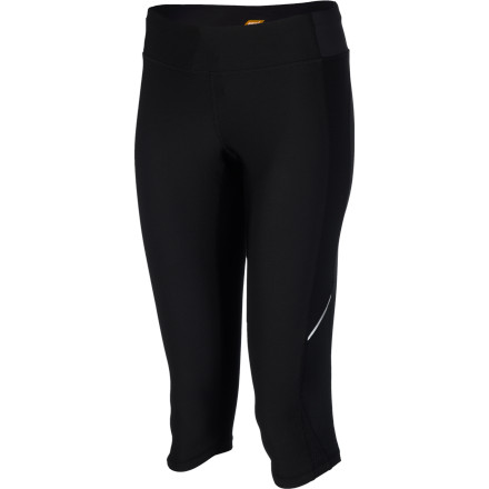 Fitness Strike out for the trails'paved or otherwise'wearing the Lucy Women's Endurance Capri. Body-hugging jersey microfiber offers light support and moisture management for high-mileage comfort, and should you stay out late, the reflective trim will help see you safely home. - $69.00