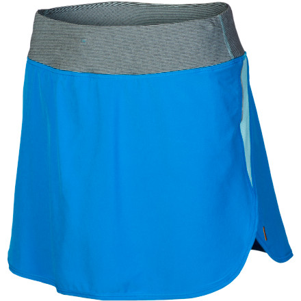 Golf Go the distance in high style wearing the Lucy Women's Endurance Skort. However you like to get active'a good long run, a hard-fought tennis match, or a round of golf'this cool, comfy skirt with a compressive sport short hiding underneath brings out your best performance. - $55.00