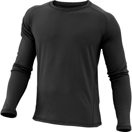 Climbing The Marmot Men's Midweight Crew Long Sleeve top has a bit of stretch built into the Polartec Power Dry fabric for all your active winter pursuits. As you hike, ski, or climb, it also wicks moisture away from your body so you don't get clammy and, subsequently, cold. Cocona Performance technology also fights odors all winter long. - $27.48