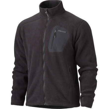 Ski The Marmot Warmlight Fleece Jacket holds in the heat so you can play outside even when bitingly cold temperatures try to keep you trapped indoors. This lightweight, breathable jacket keeps you toasty and warm whether you're trail running on a cold, November day or using it as a midlayer on an early morning ski tour. - $65.97