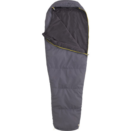 Camp and Hike Don't carry more than you need on your next summer backpacking trip just to sweat buckets all night long. Pick up the Marmot NanoWave 55 Sleeping Bag to minimize your load and stay comfy in warmer climates. Super-packable and lightweight, this bag is the ideal companion on your summer adventures whether you're traveling by boat, bike, or by foot. - $68.95