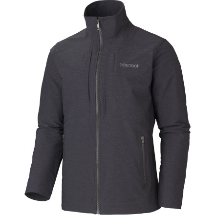 Take on foul weather in the city when you're wearing the Marmot Men's E Line Softshell Jacket. Clean lines and a simple aesthetic help this techy jacket blend in on the street, and when the wind and rain starts, the breathable and water-repellent softshell fabric keeps you comfortable. - $164.95