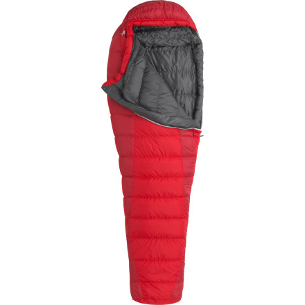 Camp and Hike Marmot designs sleeping bags for a wide range of uses, from expeditions in deep winter to ultralight backpacking missions in the peak of summer. As the name suggests, the down-filled Always Summer Sleeping Bag is designed for the later end of this range. And while the feathery just-over-two-pound weight may be enough to entice you, features like 600-fill down insulation, stretch insulation baffles, a roomy trapezoidal foot box, and ground-level sides seams will be enough to really draw you in. Marmot stole the hood of this sleeping bag from its expedition-tested 8000m down jacket, a small touch to be sure, but a meaningful addition to the overall comfort. Although there are 800-fill and 900-fill Marmot sleeping bags in the 40-degree range (the Atom and Plasma), the Always Summer hits the sweet spot in terms of warmth, weight, and value. - $178.95
