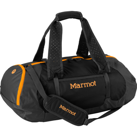 Entertainment Marmot made the Kompressor Duffle Bag for weekend travel and trips to the gym. Stash your clothes in the main compartment and keep your smaller items organized in the end pocket. - $78.95