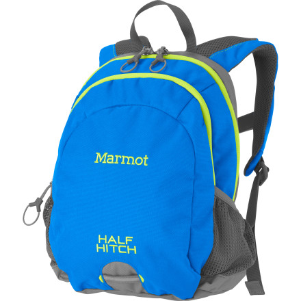Camp and Hike Marmot made the Kids' Half-Hitch Backpack for the smallest kids in your family. This tough little backpack features a short back panel to fit even the most modestly sized kid, and the limited storage capacity ensures that Grandma won't over-zealously weigh it down. Give your child this backpack for school or for travel with the family. - $38.95