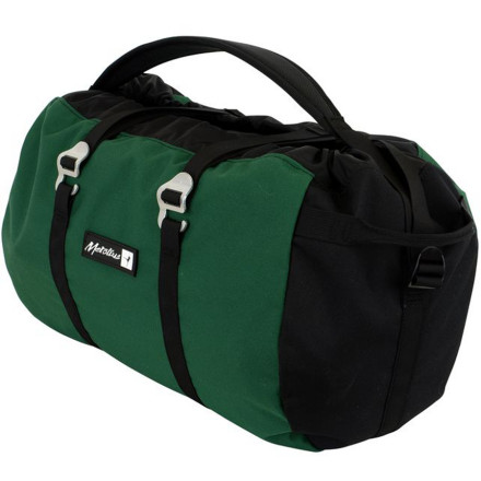 Climbing With the exception of an increased capacity suitable to a 70 meter cord and a redesigned tarp, the Metolius Ropemaster HC Bag features the same time-tested design that made the original Ropemaster the first and bestselling rope bag ever made. - $38.45