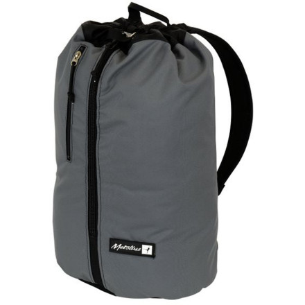 Climbing With enough space for a 70-meter rope, shoes, harness, and draws, the Metolius Speedster Rope Bag is the only pack you need for a day at the crag. Padded shoulder straps allow for easy pack-style carrying, and the large easy-load tarp protects your cord from dirt and grime. - $46.95