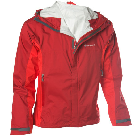 When no-frills waterproof breathable protection is what youre after, look no further than the Montane Mens Atomic DT 2.0 Jacket. Not only does its waterproof breathable Entrant DT fabric shield you from unpredictable mountain weather, but this ultralight storm shell clocks in under 11 ounces and packs up to the size of an orange in its included stuff sack. - $107.60