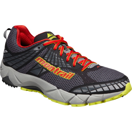 Fitness From tarmac to trail, the Montrail Men's FluidFeel Trail Running Shoe offers a smooth-as-silk ride. The flexible FluidFoam midsole, which offers superior cushioning and impact absorption, is backed up with blown rubber in the outsole that levels out every bump underfoot. Take this neutral runner with a moderate 8mm drop out on the roads one day and your favorite trail the next. - $87.96