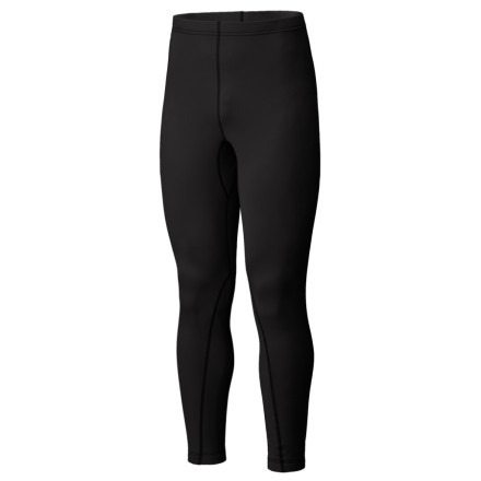 Fitness Wear the Mountain Hardwear Micro Power Stretch Full-Length Tight when you need mid-weight insulation and exceptional moisture management. Four-way stretch and anatomical shaping make the tight extra accomodating, and Mountain Hardwear moved the flatlock leg seams away from the ankle area to eliminate pinching inside your boots. - $27.98