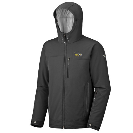 Snowboard Ski your heart out this winter in Mountain Hardwears Cutaway Jacket. This water-resistant jacket has a flexible outer fabric that stretches in four different directions to provide a comfortable, athletic feel. - $109.98