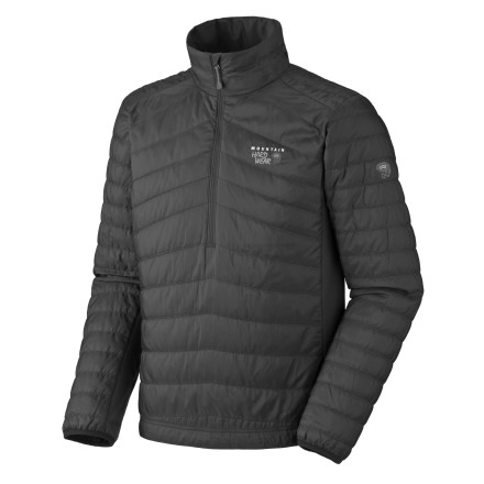 Get in your comfort zone when you wear the Mountain Hardwear Zonal 1/4-Zip Pullover. Fully functional as a layer or when worn solo, the Zonal features Mountain Hardwear's proprietary MicroClimate Zoning construction, which follows and addresses the body's natural hot and cold spots with Thermic Micro insulation. - $65.98