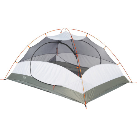 Camp and Hike Often in the world of tents, lightweight and weatherproof are mutually exclusive concepts. You can have either but not both. Mountain Hardwear has found a way for you and a partner to have your cake and eat it, too, with the Drifter 2 DP Tent. At just over four-and-a-half pounds, you'll hardly notice the weight of the Drifter, especially if you split the load, and with its guaranteed watertight construction, you'll find the Drifter worth its weight in gold in the backcountry. - $234.95