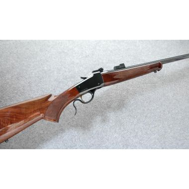 Hunting Browning 1885 Low Wall .22 Hornet, good for target practice and squirrels