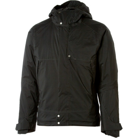 Ski The NAU Insular Jacket uses the latest, most green technology on the planet to keep you dry, warm, and ready to drop any run from Vermont to Alaska. Plus, the straight-up style of this jacket will have you looking date-ready when you're chilling in the lodge bar after a killer day on the mountain. - $142.00