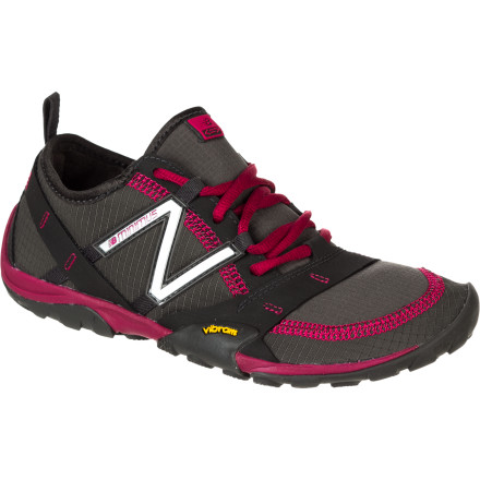 Camp and Hike Feel the earth beneath your feet as you hit the trails in the New Balance Women's WO10 Minimus Hiking Shoe. This slightly beefier, weather-resistant version of New Balance's popular MT10 shoe was made for rock hopping, puddle jumping, and wet-weather fun. - $114.95