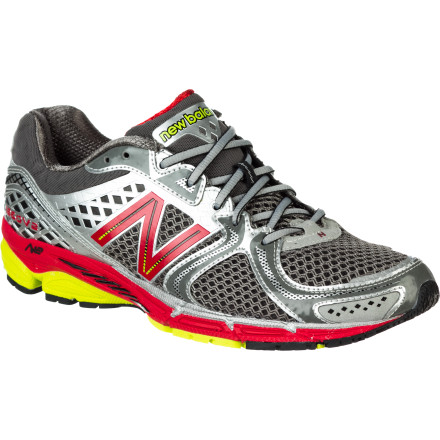 Fitness New Balance thought through every feature a stability-craving runner could want, and packed them into the Men's 1260V2 NBX Running Shoe. From the snug, form-fitting upper that wraps your foot in comfortable support, through the T-Beam and Stabilcore support systems to the low-profile N2 sole cushioning, the 1260V2 keeps you on track without weighing you down. - $94.22