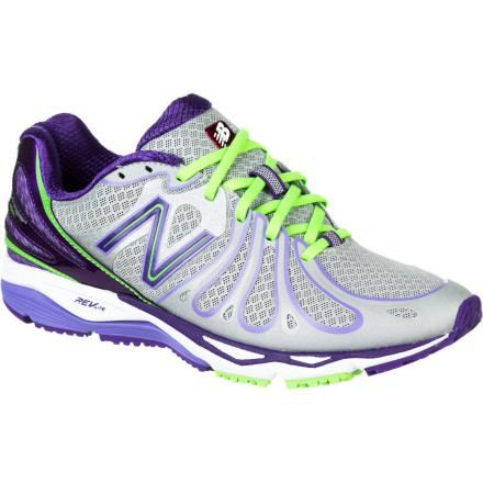 Fitness It's go time when you lace up the New Balance Women's W890V3 NBX Running Shoe. Built for racing and speed training workouts, this cheetah of a shoe delivers the cushioning and light weight that runners of all stripes (or spots) need when they're picking up the pace. - $99.95