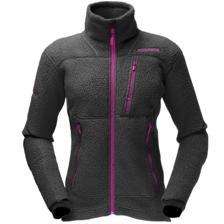 Youll rejoice at how good the Norrna Womens Trollveggan Warm 2 Jacket looks each time you pull it out of your summer storage boxes. Made from strong, flexible, and lightweight Polartec Thermal Pro fabric, this fleece jacket was built to last season after season. The Trollveggan Warm fits smoothly beneath your shell as a mid-layer to keep you toasty on frigid winter days and can be worn alone on chilly autumn mornings. In case you need both hands on your hyperactive dogs leash, just stash your keys and cash in the chest and hand pockets. Norrna included thumbholes for comfort and for blocking out the cold. - $163.90