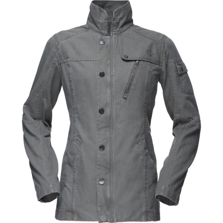 Norrna may be best-known for quality outdoor apparel, but its /29 Women's Cotton Jacket demonstrates that it has its finger on the pulse of cutting-edge urban style as well. - $109.45