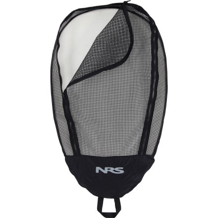 Camp and Hike Keep your gear secure while you paddle and island hop with the NRS Zippered Mesh Cockpit Cover. This highly breathable mesh cover enables your wet gear to dry out while also keeping varmints out when you set up camp along the shore and haul your boat up onto the beach for an evening of relaxation beneath the stars. - $49.95