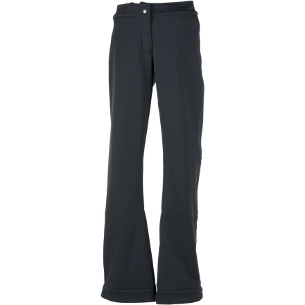 Ski The Obermeyer Women's Bond Pant is so sleek, it could just as easily be found in a fashionable shopping district as it could a ski slope. This slim-cut pant made from SofTech Stretch fabric shows off your curves as you make your way down the hill; a soft inner layer with a waterproof breathable laminate adds cold-weather comfort. - $99.73