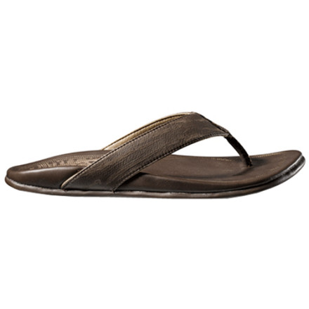 Surf The Olukai Pu' Ali Sandals mix the quality of performance footwear, the style of designer shoes, and the rugged soul of those who live for the beach. - $70.00
