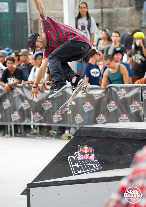 Skateboard NYC Red Bull Manny Mania