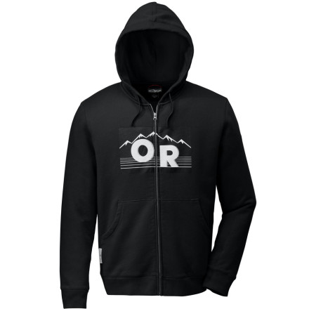 Head out on the town in gear you trust with the Outdoor Research Heritage Full-Zip Hooded Sweatshirt. The Heritage is constructed from a combination of cotton and polyester fleece for the ultimate in comfort and warmth. - $27.98