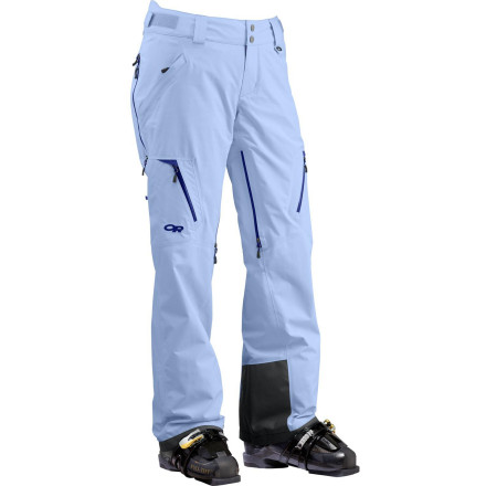 Ski When you want pants that can keep up with your go-anywhere, ski-everywhere philosophy get inside the Outdoor Research Women's Axcess Pants. Gore-Tex waterproof breathable protection keeps you dry and feeling good no matter what frozen, high-vert adventureland you hit up next. - $244.97