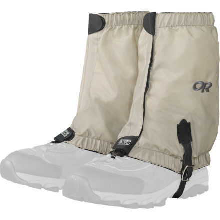 Climbing Hiking in insect-infested areas at the height of the season can be unavoidable and maddening. Keep the little biters from getting into your pants and boots with the Outdoor Research Bug Out Gaiter. This durable gaiter is treated with Insect Shield, which repels nasty little biting buggers for up to 70 washes. - $42.45