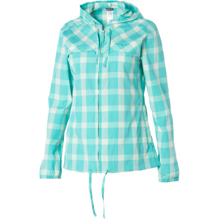 Surf The Patagonia Women's Sun Jacket is there for you when you need something between your tank and those clear, cool days in high mountain valleys. Just pull this zip-up out of your pack and you'll be feeling good. - $49.50