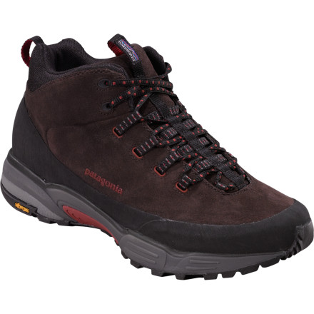 Camp and Hike Pull on the Patagonia Footwear Scree Shield Mid Boot, and head into the woods. Whether you're bushwacking through gnarly terrain or taking the path more frequently traveled, the Scree Shield will provide protection and support. - $75.00