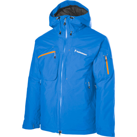 Ski For days when the snow count is in the double digits but the thermometer is only displaying integers below 10, the Peak Performance Heli Loft Jacket rocks a Gore-Tex waterproof breathable membrane to keep you bone dry. Lightweight, breathable, and warm, this two-layer jacket also features ThermoCool insulation for cold-busting warmth. - $239.98
